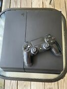 Complete Playstation 4 Gaming Set-up Ps4, Game,controller, Headset, And Monitor