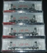 Blma N Scale Ga3500 Dry Flow Covered Hopper Union Pacific Up 4 Road Numbers Set