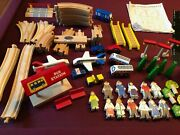 Kidkraft Transportation City Replacement Wooden Wood Train Tracks And Accessories