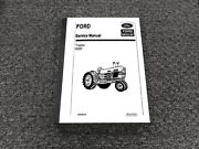 Ford New Holland 6000 Tractor Shop Service Repair Manual 40600010
