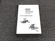 Sperry New Holland 912 1112 1114 Speedrower 90 Degree Gearbox Service Manual