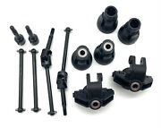 Losi Lmt Grave Digger Axles And Knuckles Spindles Driveshafts Los04021t1