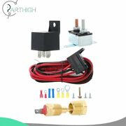 Radiator Engine Cooling Fan Switch Wiring Relay Kit For 200-185/5-5-000 Electric