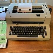 Rare Ibm Personal Typewriter With Manuals And Dust Cover