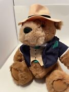 Lands End By Gund Big Daddy Bear With Hat Suit And Glasses 12 Made In 1992