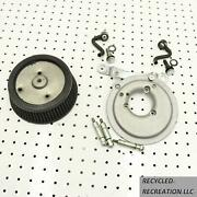 2003 Harley-davidson Fatboy Kandn Air Filter And Mount Screaming Eagle A055e4