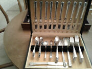 Holmes And Edwards May Queen 1951 Silverplate Flatware Set Srvs 12-77 Pcs Free Sh
