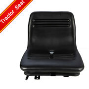 Forklift Dozers Tractor Seat With Sliding Tracks Fits Most Mechanical Seats Pvc