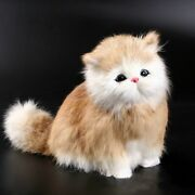 Furry Cute Screaming Plush Cat Dolls For Children - Specially For Birthday Gift
