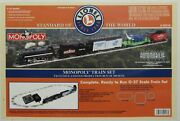 Lionel 6-52218 Monopoly Eastwood Train Set Limited Edition To 500 Rare Nib