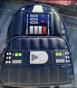 Loungefly Star Wars Darth Vader Light Up Mini Backpack Ready To Ship