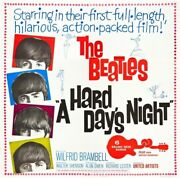 Hard Dayand039s Night A 1964 21218 The Beatles Movie Poster Six-sheet 81x81