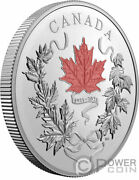 Our National Colours 100th Anniversary 10 Oz Silver Coin 100 Canada 2021