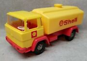 Hammer Toys W. Germany Toy Shell Oil Tanker Truck.