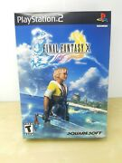 Playstation Promo Final Fantasy X Ps2 Promotional Collectible Store Display Box