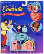 Walt Disney's Cinderella Once Upon A Time Locket Set 66413 By Arco Toys