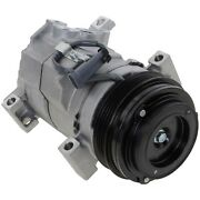 New A/c Ac Compressor For Chevy Avalanche Express Van Suburban With Clutch Gmc
