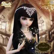 Baby Girls Gift 1/3 Bjd Doll Ball Jointed Princess With Makeup Clothes Wigs Eyes