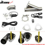 Fits Mazda 2.5 Inch Electric Exhaust Cutout Flange With Wireless Remotes