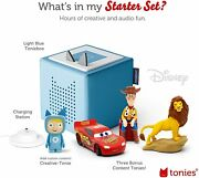 Toniebox Light Blue Starter Set Bundle - Includes Creative Tonie Woody From Toy