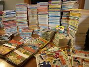 Huge Lot Of 500+ Vintage Archie Digest Library Comics Jughead Betty And Veronica