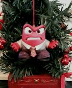 Inside Out Anger 2.5 Pvc Ornament Christmas Figure Figurine Disney Collectible