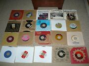 Oldies 45's Vinyl Lot Of One Hundred One 101 Records