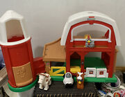 Fisher-price Little People Barn W Animal Sounds Childand039s Toy 2005 By Mattel