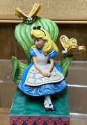 Jim Shore Enesco Curiouser And Curiouser Butterfly Alice In Wonderland Disney