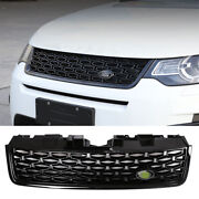 Fit For Discovery Sport 2015-2019 Black Front Upper Bumper Mesh Grill Grille 1pc