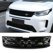 Fit For Discovery Sport 2020-2021 Black Front Upper Bumper Mesh Grill Grille 1pc
