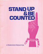Stella Stevens Jacqueline Stand Up And Be Counted Original Screenplay 130202