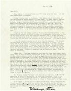 Lengthy Typed Letter Signed From Stan Brakhage To Will Petersen 1973 134299