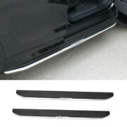Fit For Discovery Sport 2020-2021 Black Running Board Side Step Nerf Bar Pedal