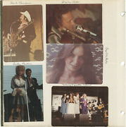 Archive Of Photographs Of Country Music Acts Circa 1970s 146874