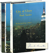 Paul Auster New York Trilogy City Of Glass Ghosts And The Locked Signed 152219