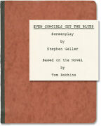 Tom Robbins Even Cowgirls Get The Blues Original Screenplay For An 152405
