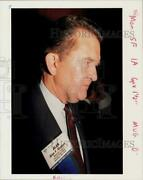 1990 Press Photo Alan Kiepper Attends Annual Meeting And Expo And03990. - Hpa41692