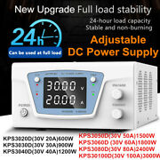 30v 20a-100a Lab Adjustable Variable Dc Stabilized Power Supply Bench Source