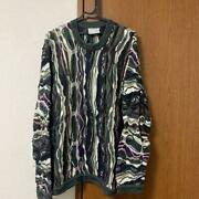 Vintage Coogi Cotton Knitted Sweater Size Xl Made In Australia Multicolor Rare