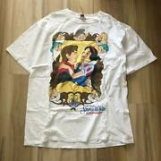 Vintage 90's Disney Snow White And Seven Drawfs Tee T Shirt Size Xl Made In Usa
