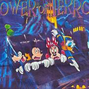 Vintage Disney Tower Of Terror Tee T Shirt Size Xl Made In Usa Mickey Inc