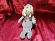Rare Vintage Ty Beanie Baby Jolly The Walrus Retired 1996 Errors Pvc Pellets