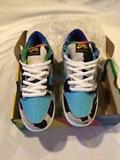 Size 9 - Nike Sb Dunk Low Ben And Jerryand039s Chunky Dunky Black/gold/lagoon...