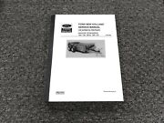 Ford New Holland 190 195 S676 790 791 Manure Spreader Gearbox Repair Manual