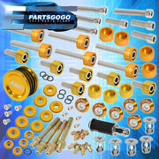 Cup Header Cam Cap Washer+cam Seal+m8 Fender Washer Kit+valve Cover Washers Gold