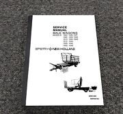 Sperry New Holland 1047 1048 1049 Bale Wagon Shop Service Repair Manual 40931400