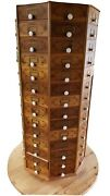 Craft / Tool - Shop Storage - Victorian Reproduction - Heavy Solid Wood