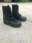 [very Good] Surplus Swiss Ks90 M90 Leather Combat Boots Size 265 69.5/wide