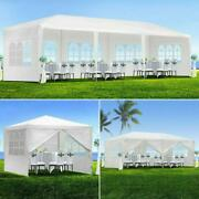 10'x10'/20'/30'canopy Party Wedding Tent Waterproof Pavilion Cater Event White